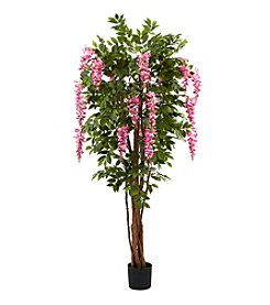 Nearly Natural® 6.5' Wisteria Silk Tree