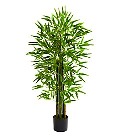 Nearly Natural® Indoor Outdoor UV Resistant Bamboo Tree