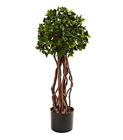Nearly Natural® Indoor Outdoor UV Resistant 2.5' English Ivy Topiary