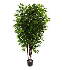 Nearly Natural® 6.5' Deluxe Ficus Tree