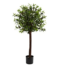 Nearly Natural® 4' Olive Topiary Silk Tree