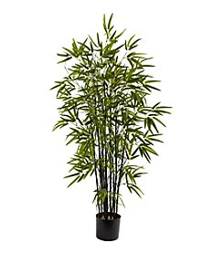Nearly Natural® Black Bamboo Tree
