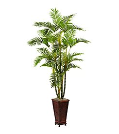 Nearly Natural® 6.5' Areca with Decorative Planter