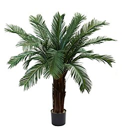 Nearly Natural® Indoor Outdoor UV Resistant Cycas Tree