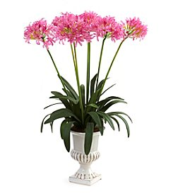 Nearly Natural® African Lily with Urn