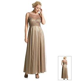 Cachet® Foil Mesh Dress