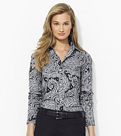 Lauren Ralph Lauren® Paisley Wrinkle-Free Dress Shirt