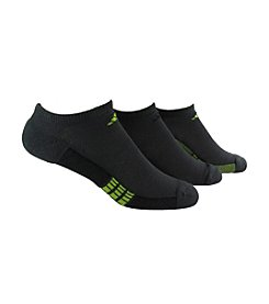adidas® Men's Grey/Red 3-Pack Climacool Superlite No Show Sock