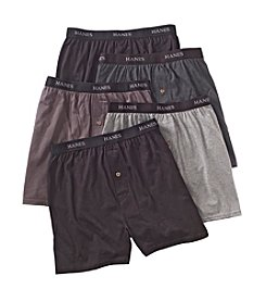 Hanes® Men's Assorted 5-Pack Classics Knit Boxers