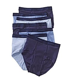 Hanes® Men's Assorted Blues 7-Pack Classics Briefs