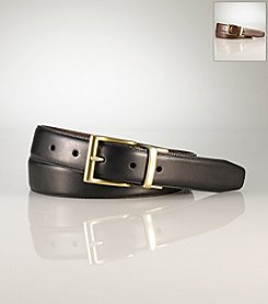 Polo Ralph Lauren® Men's Black/Brown Casual Reversible Leather Belt