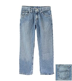 Lee® Boys' 8-20 Husky Worn Medium Relaxed Jeans