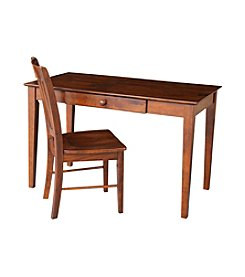 International Concepts Alice Writing Desk and Chair Set