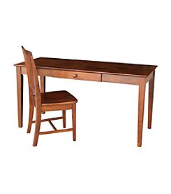 International Concepts Elizabeth Writing Desk & Chair Set