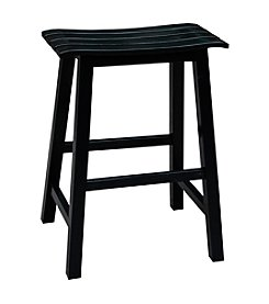 International Concepts Slat Seat Stool