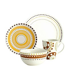 Rachael Ray® Circle and Dots Stoneware 16-pc. Dinnerware Set