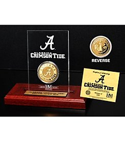 NCAA® University of Alabama Gold Coin in Etched Acrylic