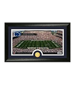 Penn State Stadium Bronze Coin Panoramic Photo Mint by Highland Mint