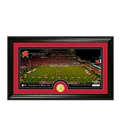 University Of Maryland Stadium Bronze Coin Panoramic Photo Mint by Highland Mint
