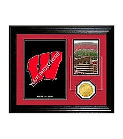 University of Wisconsin Fan Memories Desktop Photo Mint by Highland Mint