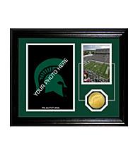 Michigan State University Fan Memories Desktop Photo Mint by Highland Mint