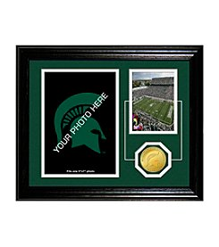 Highland Mint NCAA® Michigan State Spartans Fan Memories Desktop Photo Mint