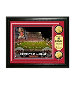 NCAA® University of Maryland Stadium Gold Minted Coin Photo