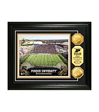 Purdue University Stadium Gold Coin Photo Mint by Highland Mint