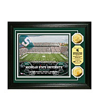 Michigan State University Stadium Gold Coin Photo Mint by Highland Mint