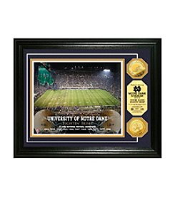 University of Notre Dame Gold Coin Photo Mint by Highland Mint