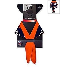 Denver Broncos In Dog We Trust Pet Bandana