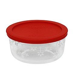 Pyrex® 4-cup Snowflake Storage Bowl