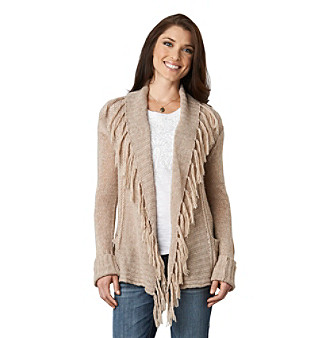Democracy Fringe Front Open Cardigan