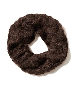 COACH BRAIDED CABLE KNIT COWL