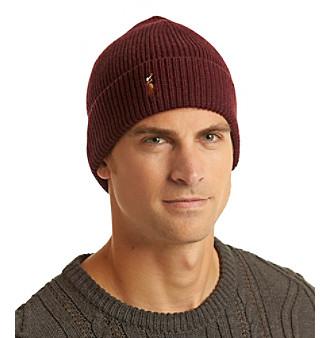 Polo Ralph Lauren® Men's Signature Merino Cuffed Hat