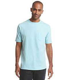 Paradise Collection® Men's Short Sleeve Heathered Pocket Tee