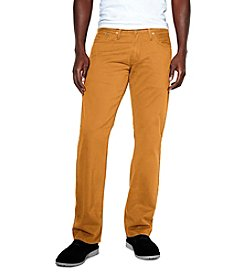 Levi's® Men's Caraway Tan 514™ Twill Straight Fit Jean