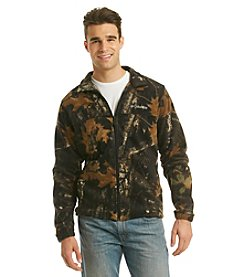 Columbia Men's Timberwolf Green Steens Mountain Lumberjack Printed Fleece