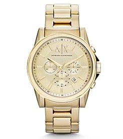 A|X Armani Exchange Goldtone Bracelet Watch