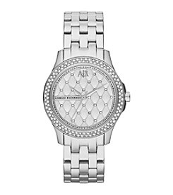 A|X Armani Exchange Women's Stainless Steel Bracelet Watch