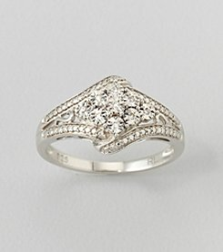 0.03 ct. t.w. Diamond Ring in Sterling Silver