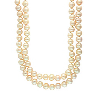 "Effy® 18"" Freshwater Pearl Double Strand Necklace"
