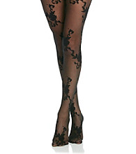 Hanes® Silk Reflections Floral Pantyhose with Control Top