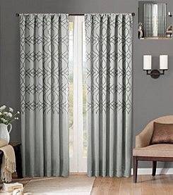 Madison Park® Zoe Fretwork Boarder Flipable Window Treatment