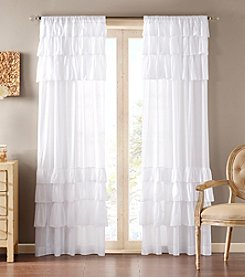 Madison Park® Anna Oversized White Window Ruffle