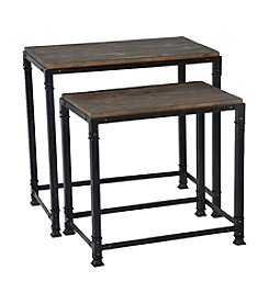 Madison Park® Rustic Reclaimed Nesting Tables