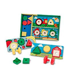 Melissa & Doug® Sort, Match, Attach Nuts and Bolts Boards