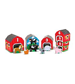 Melissa & Doug® Nesting and Sorting Barns and Animals