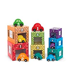 Melissa & Doug® Nesting and Sorting Garages and Cars