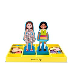 Melissa & Doug® Chloe and Zoe - Magnetic Dress Up